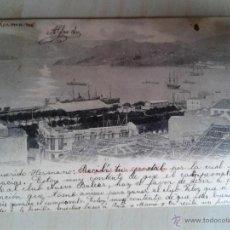 Postales: POSTAL ANTIGUA GALICIA. PONTEVEDRA. VIGO. VISTA GENERAL DE LA GUÍA DE VIGO. . Lote 42226765