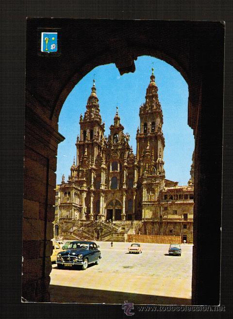 POSTAL SANTIAGO DE COMPOSTELA. CATEDRAL (Postales - España - Galicia Moderna (desde 1940))