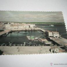 Postales: POSTAL-ESPAÑA-LA CORUÑA-DÁRSENA-1950S-NUEVA-.. Lote 42556178