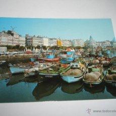 Postales: POSTAL-ESPAÑA-LA CORUÑA-DÁRSENA-NUEVA-. Lote 42557045