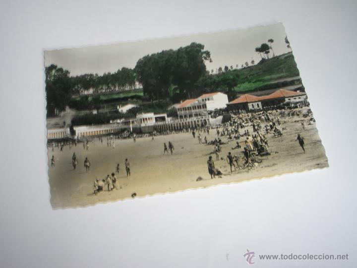 Postales: POSTAL--LA CORUÑA-PLAYA DE SANTA CRISTINA-1950?-NUEVA-. - Foto 2 - 42629917