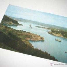 Postales: POSTAL-CORUÑA-FERROL-ENTRE CASTILLOS-1957-NUEVA-.. Lote 42689243