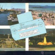 Postales: VIGO. ED. ALARDE Nº 44. CIRCULADA 1972.. Lote 42713916