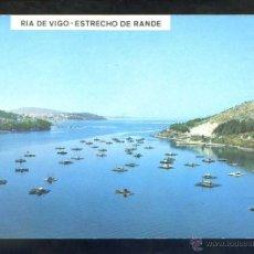 Postales: VIGO *RIA DE VIGO. ESTRECHO DE RANDE...* ED. POST. FAMA Nº 3164. CIRCULADA.. Lote 42792949