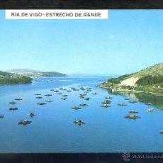 Postales: VIGO *RIA DE VIGO. ESTRECHO DE RANDE...* ED. DIST. POST. FAMA Nº 3164. NUEVA.. Lote 42794051