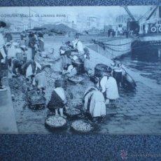 Postales: LA CORUÑA MUELLE LINARES RIVAS DE E. COMÁS POSTAL ANTIGUA. Lote 43038639