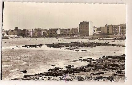 ANTIGUA POSTAL 241 LA CORUÑA PLAYA DE RIAZOR EDICIONES ARRIBAS (Postales - España - Galicia Moderna (desde 1940))