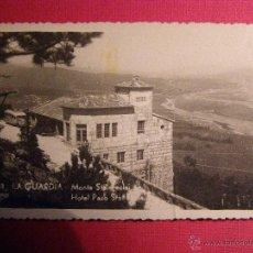 Postales: POSTAL - LA GUARDIA - 68 MONTE STA.TECLA - HOTEL PAZO - POLIGRÁFICA VIGO - NUEVA - SIN DIVIDIR -. Lote 43139674