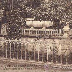 Postales: RRR POSTAL DE LA CORUÑA - Nº 11 TUMBA SIR JOHN MOORE - HELIOTIPIA DE KALLMEYER Y GAUTIER DE MADRID. Lote 43236696