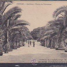 Postales: POSTAL ORENSE JARDINES PASEO DE PALMERAS . Lote 43394732