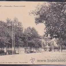 Postales: POSTAL ORENSE ALAMEDA PASEO CENTRAL . Lote 43394785