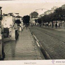 Postales: POSTAL DE VIGO - PONTEVEDRA - PASEO FRANCO - ALFONSO XII - FOTOGRAFICA - ROISIN. Lote 176005282