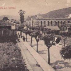 Postales: RARISIMA POSTAL CALLE DE ESPAÑA DE VERIN - ORENSE - OURENSE - GALICIA - MATEU 1930. Lote 43544967