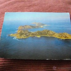 Postales: POSTAL DE LAS ISLAS CIES AÑO 71 VER LAS 2 FOTOS MAS POSTALES EN MI TIENDA. Lote 43564970