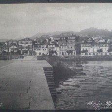 Postales: POSTAL DE MARIN, (PONTEVEDRA) MUELLE DE CABOTAJE., FOTO PINTOS.. Lote 43589886