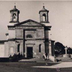 Postales: SANTA EUGENIA DE RIVEIRA (CORUÑA).- IGLESIA PARROQUIAL. Lote 43619787