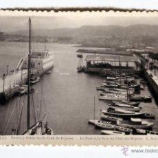 Postales: VIGO PUERTO Y BAHIA DESDE CLUB DE REGATAS FOTO L. ROSIN NUEVA SIN USO. Lote 43626818
