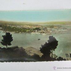 Postales: POSTAL - EL FERROL DEL CAUDILLO - VISTA GENERAL DESDE LA GRAÑA - EDICIONES ARRIBAS 175 - COLOREADA. Lote 43642434