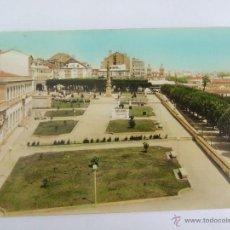 Postales: POSTAL - EL FERROL - PLAZA DEL OBISPO ARRIBA Y CASTRO - ED. ARRIBAS 1014 - COLOREADA. Lote 43642953