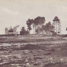 Cartes Postales: BALNEARIO DE LA TOJA. EL GRAN HOTEL VISTO DESDE EL MAR.. Lote 43646910