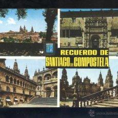 Postales: SANTIAGO DE COMPOSTELA *RECUERDO...* ED. FISA Nº 11. NUEVA.. Lote 43751161