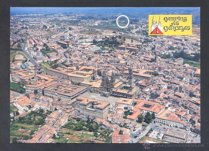 Santiago De Compostela Camping As Cancelas Comprar Postales De Galicia En Todocoleccion 43770388