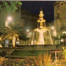 Postales: ORENSE (GALICIA), PLAZA DE GALICIA Y FUENTE - EDICIONES PARIS Nº 738 - SIN CIRCULAR. Lote 43988037