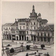 Postales: RIBADEO - LUGO - GALICIA - POSTAL AÑOS 50 FOTOGRAF. - JARDINES PARQUE MUNICIPAL - EDICIONES PEREZ. Lote 44111575