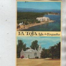 Postales: POSTALES-LOTE DE 5 TARJETAS DE LA ISLA DE LA TOJA (PONTEVEDRA) ( VER FOTOS). Lote 44184819