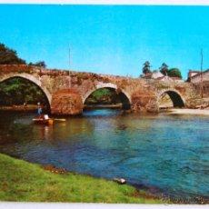 Postales: POSTAL DE PUENTEAREAS (PONTEVEDRA).. Lote 44230805