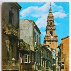 Postales: POSTAL DE LA RUA DEL VILLAR (SANTIAGO DE COMPOSTELA).. Lote 44295796