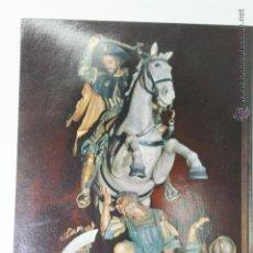 Postales: POSTAL SANTIAGO DE COMPOSTELA CATEDRAL IMAGEN DEL APOSTOL SANTIAGO. Lote 44366170