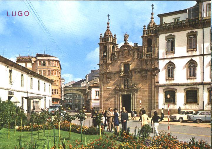 LUGO - PLAZA DEL FERROL (Postales - España - Galicia Moderna (desde 1940))