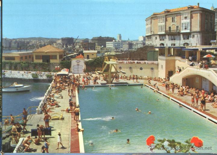 la coru a piscina de la solana comprar postales de