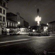 Postales: RRR POSTAL FOTOGRAFICA PLAZA CALVO SOTELO - VILLAGARCIA - PONTEVEDRA - EDICIONES PARIS AÑOS 40. Lote 45135033