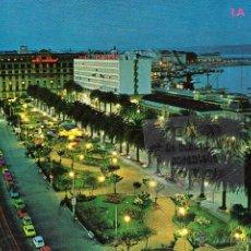 Postales: POSTAL - A CORUÑA - AVENIDA LOS CANTONES Y JARDINES - NO CIRCULADA. Lote 45137330