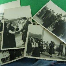 Postales: FOZ LUGO COSTUMBRISTAS BAILE FOTO CELTA LP1. Lote 45488104