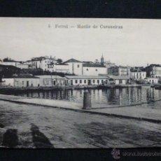 Postales: FERROL - MUELLE DE CURUXEIRAS. Lote 45507564