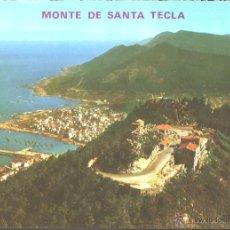 Postales: LA GUARDIA - MONTE SANTA TECLA. Lote 45525745