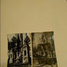 Postales: ARANJUEZ. 2 POSTALES FUENTES APOLO Y NEPTUNO. HELIOTIPIA ARTÍSTICA ESPAÑOLA.. Lote 45691473