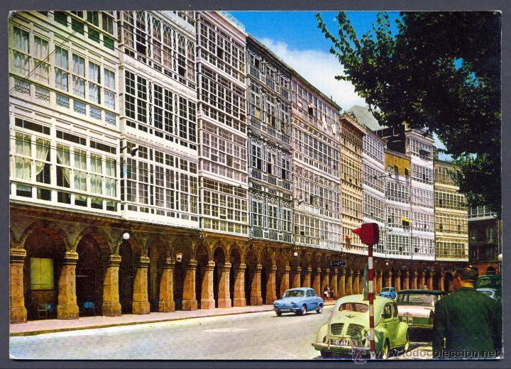 LA CORUÑA. AVENIDA DE LA MARINA (Postales - España - Galicia Moderna (desde 1940))