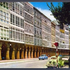 Postales: LA CORUÑA. AVENIDA DE LA MARINA. Lote 45757187