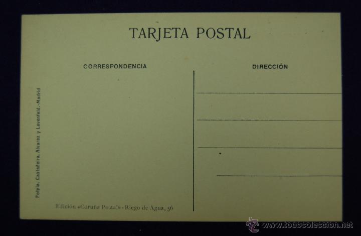 Postales: POSTAL DE LA CORUÑA. VISTA PARCIAL. EDICIÓN CORUÑA POSTAL. AÑOS 15-20 - Foto 2 - 45784690