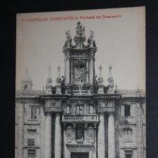 Postales: ANTIGUA POSTAL DE SANTIAGO DE COMPOSTELA. FACHADA DEL SEMINARIO. FOTPIA. THOMAS. SIN CIRCULAR. Lote 45860616