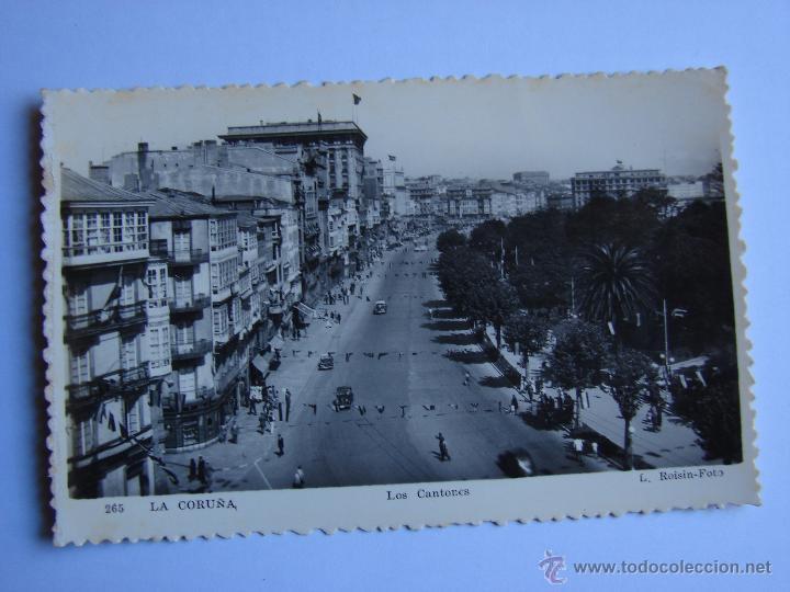 POSTA ANTIGUA. LA CORUÑA. SIN CIRCULAR. LOS CANTONES (Postales - España - Galicia Antigua (hasta 1939))