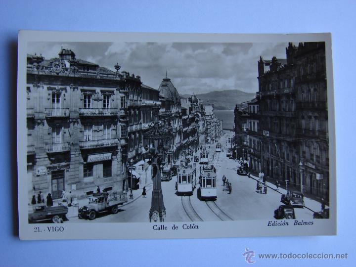 POSTAL ANTIGUA. VIGO. SIN CIRCULAR. CALLE DE COLON (Postales - España - Galicia Antigua (hasta 1939))