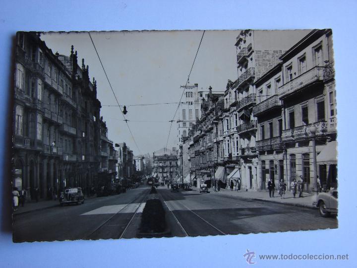 POSTAL ANTIGUA. VIGO. SIN CIRCULAR. CALLE DE JOSE ANTONIO (Postales - España - Galicia Antigua (hasta 1939))