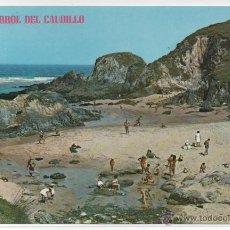 Postales: EL FERROL DEL CAUDILLO Nº 317 .- PLAYA DE VALDOVIÑO.- EDICIONES PARIS. Lote 46043486