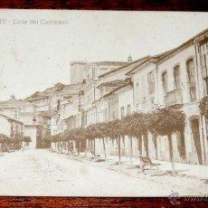 Postales: POSTAL DE MONFORTE DE LEMOS (LUGO) CALLE DEL CARDENAL, EDICION CASTRO, SIN CIRCULAR. Lote 46071455