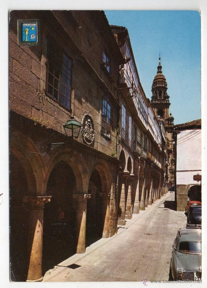 SANTIAGO DE COMPOSTELA. RUA DEL VILLAR. (Postales - España - Galicia Moderna (desde 1940))